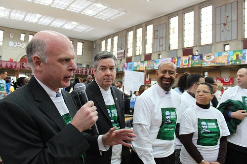 Tom Power speaking