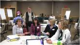 IMG: Members from Blandin and MIRC attend a kick off meeting.