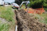 Construction crews work to upgrade existing fiber across central Illinois