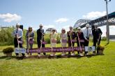 Officials participate in Enventis' groundbreaking ceremony