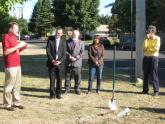 Federal and local officials participate in LCOG's groundbreaking ceremony