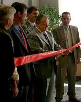 "Photo: ""Maine Fiber BTOP in Action Ribbon-cutting Inside"""