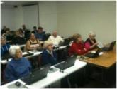 IMG: Students attending FFNM classes at the Rio Rancho Public Library.
