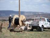 NTUA prepares to install new fiber in New Mexico.