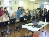 IMG: Residents from Mercy Housing in San Jose, Calif. attend a computer basics c
