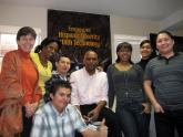 Students from the Digital Connector program at the Latin American Youth Center