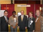 Image: Gov. Chafee and OSHEAN staff at Cities and Towns Day