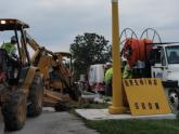 Sho-Me MO project contractors prepare for directional boring of fiber conduit