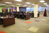 A view of the newly renovated Kent Branch @ccess Center