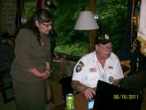 A Menominee Nation veteran learns computer skills at a BCCB workshop