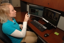 """Photo: """"Communication Service for the Deaf BTOP in Action Employee Contacting Cu"""