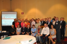 Members from U.S. UCAN and Internet2 attend the Spring 2011 meeting